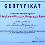 Interaktywne Warsztaty USG dr Małgorzata Serafin Król