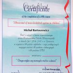 Diagnostyka USG narządu ruchu u dzieci. Kurs praktyczny - Certyfikat.