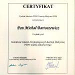 Instruktor Szkoleń Antydopingowych Komisji Medycznej PZPN stopnia podstawowego